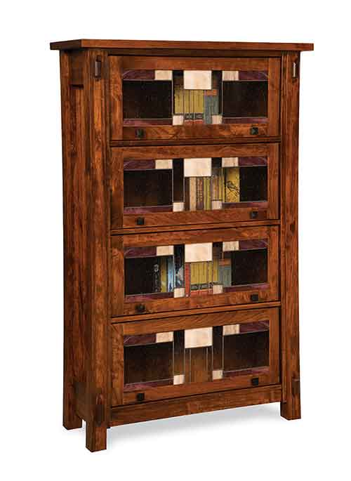 Amish Craftsman Barrister Bookcase
