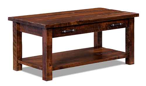 Amish Houston Open Coffee Table