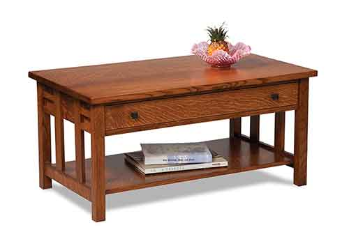 Amish Kascade Coffee Table