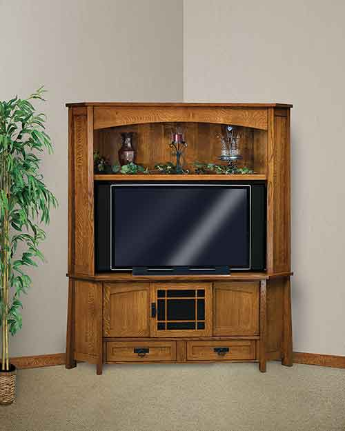 premium selection 8d400 5ace1 Amish Modesto Corner TV Stand [FVE-053-MD] : The Amish ...