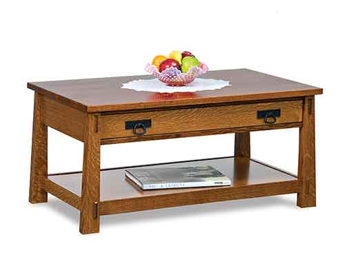 Amish Modesto Coffee Table