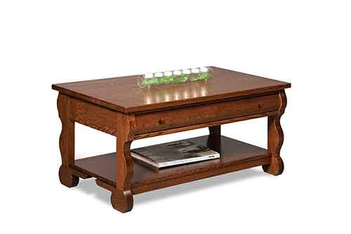Amish Old Classic Sleigh Coffee Table