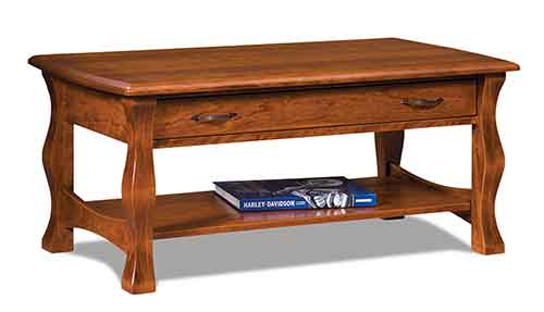 Amish Reno Open Coffee Table