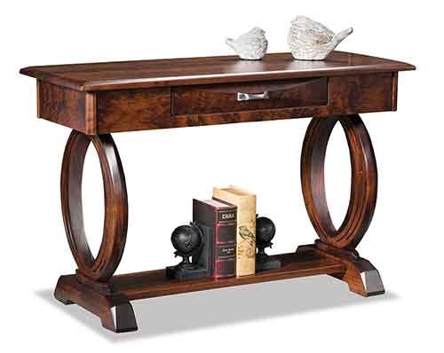 Amish Saratoga Open Sofa Table