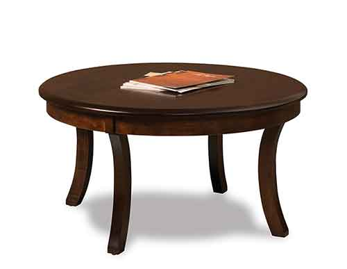 Amish Sierra Round Coffee Table