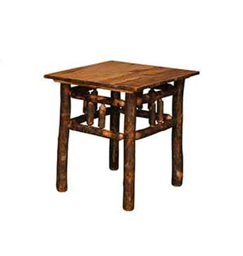 Lumberjack End Table