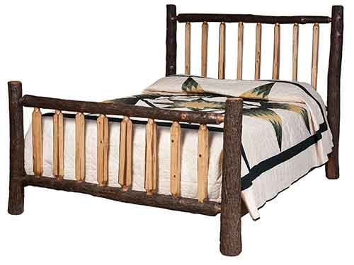 Lumberjack Shaved Spindle Bed