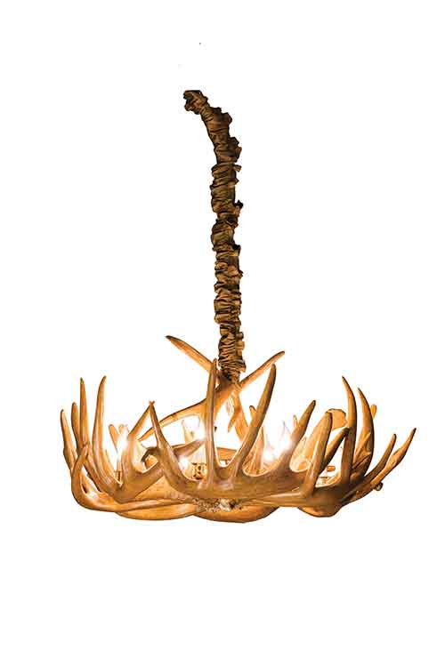 Single Tier Antler Chandelier
