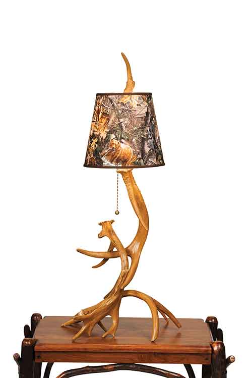 Table Antler Lamp