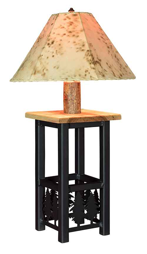 Ironwood Lamp