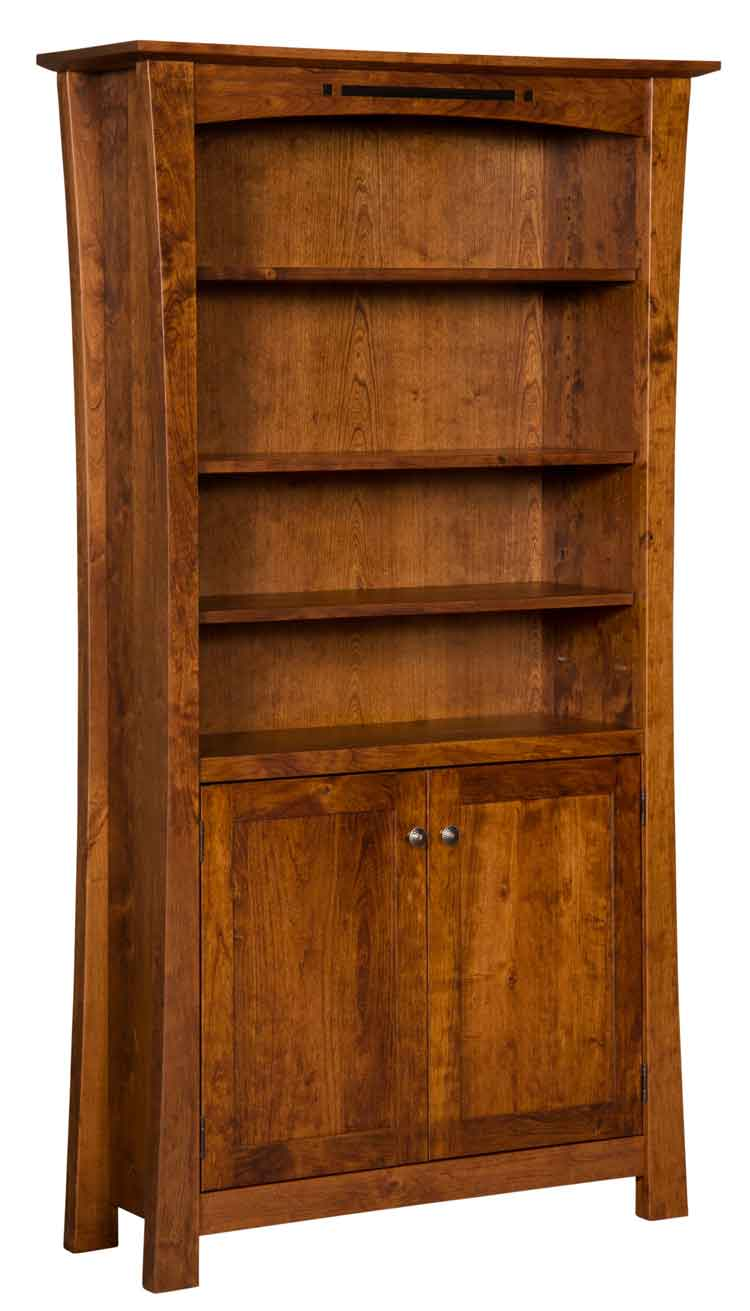 "Amish Arts & Crafts 48"" Bookcase with Doors"