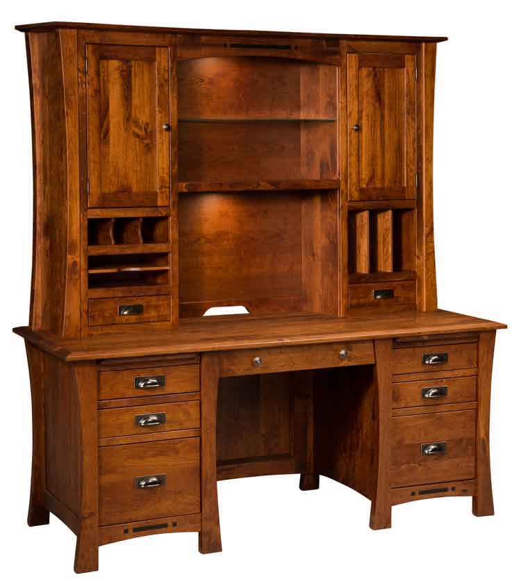 Amish Arts Crafts Executive Desk