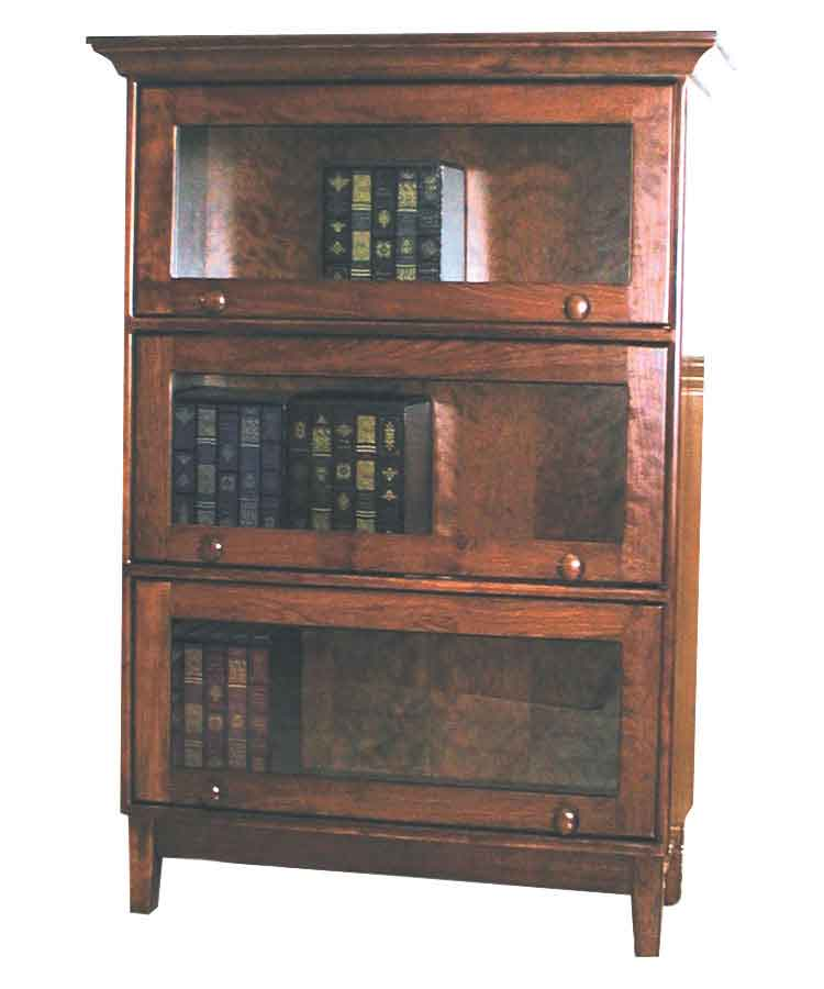Amish Shaker Barrister Bookcase