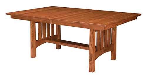 Amish Modesto Trestle Table, Furniture Market Modesto
