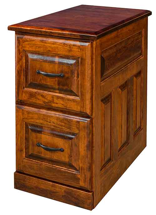 amish handcrafted and custom office file cabinets