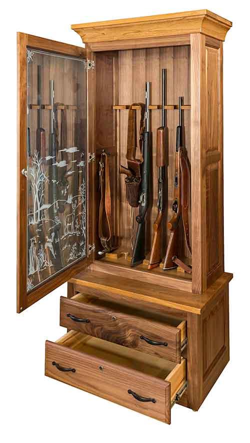 Amish Gun Cabinet ...  sc 1 st  The Amish Market & Amish Gun Cabinet [PRWGU01] - $1882.00 : The Amish Market Amish ...