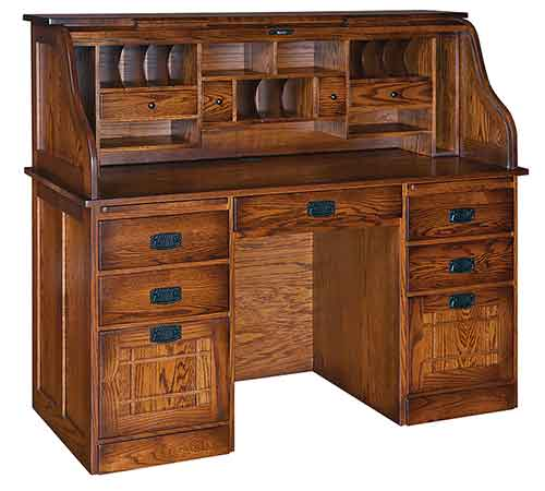Amish Mission Farmers Rolltop Desk