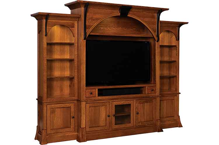 Amish Breckenridge Wall Unit