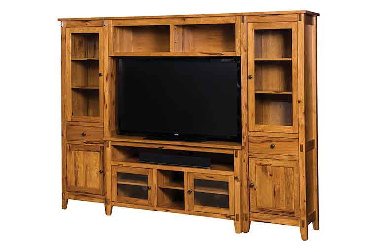 Amish Bungalow Wall Unit