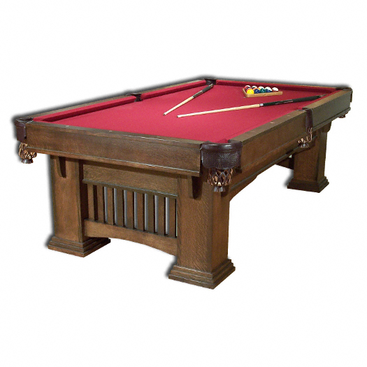 Amish Classic Mission Pool Table