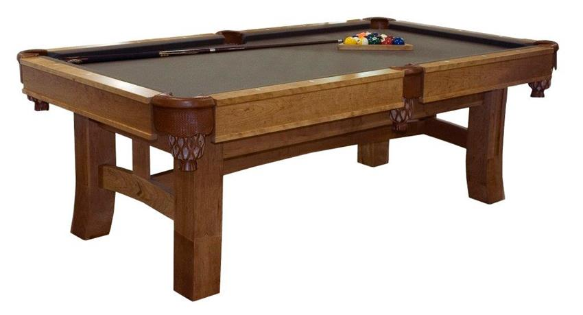 Amish Shaker Hill Pool Table