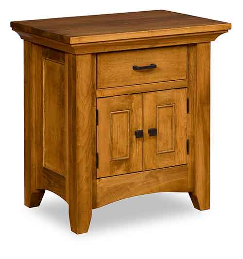 "Amish Legacy 30"" Nightstand, 1 Drawer, 2 Door"