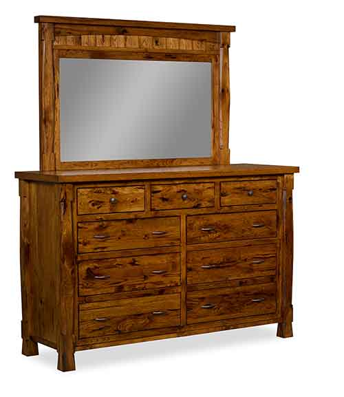 Amish Ouray Bedroom Dresser