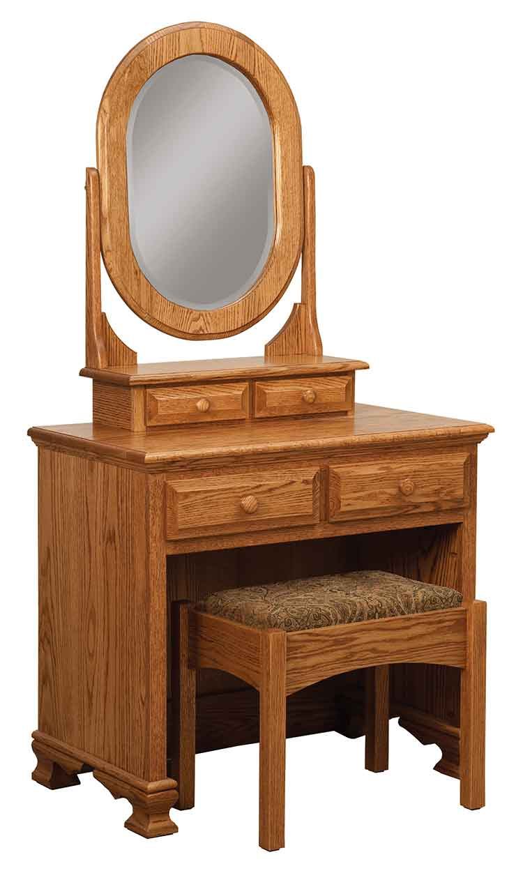 Amish Heritage Dressing Table with bench