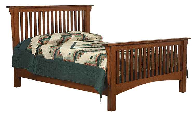 Amish Mission Bed