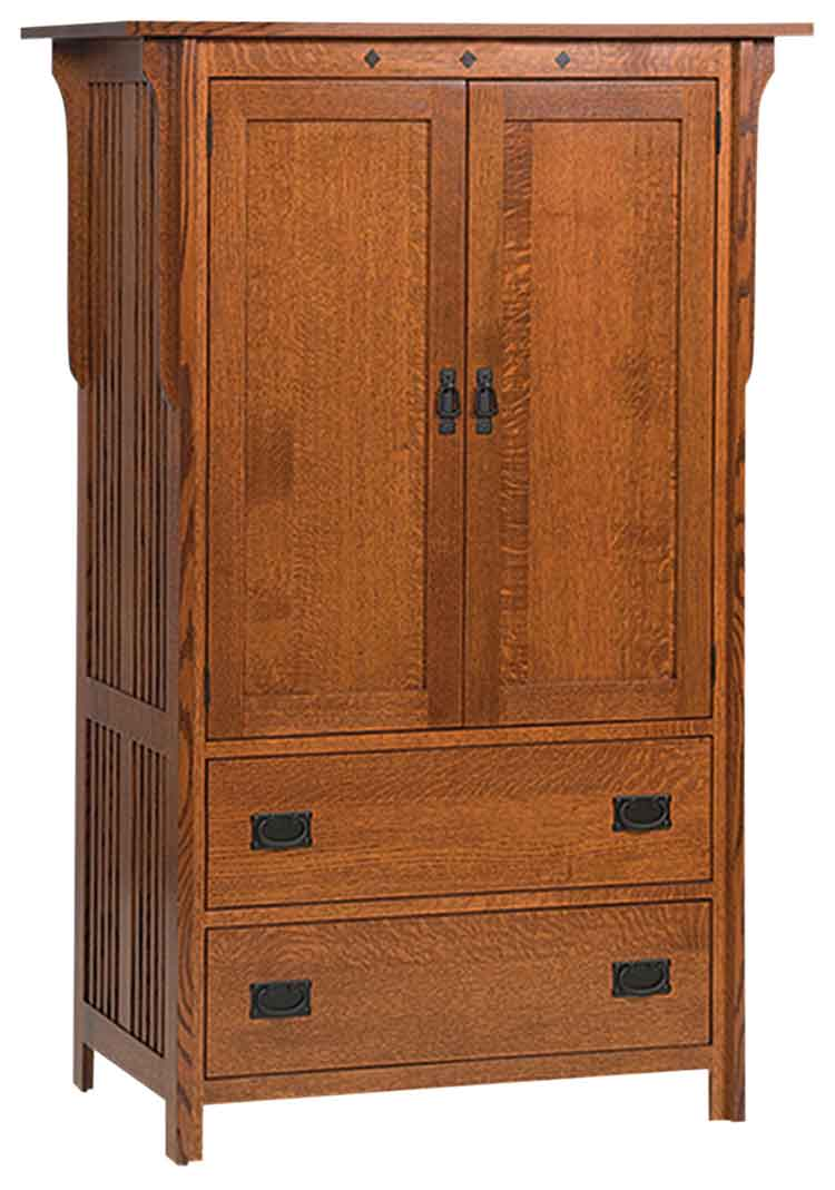 Amish Royal Mission Bedroom Armoire