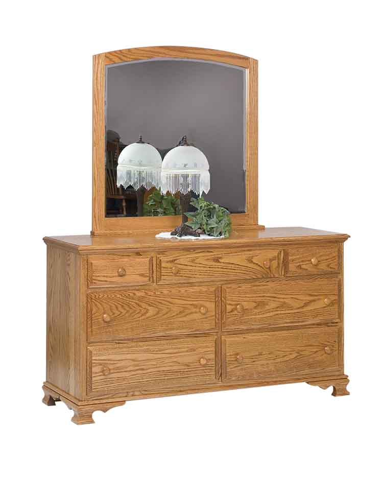 "Amish Heritage 60"" Bedroom Dresser"