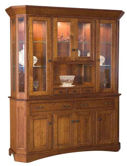 Amish Albany China Cabinet
