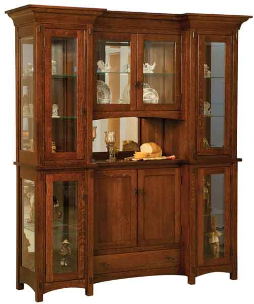 Amish Alvada China Cabinet