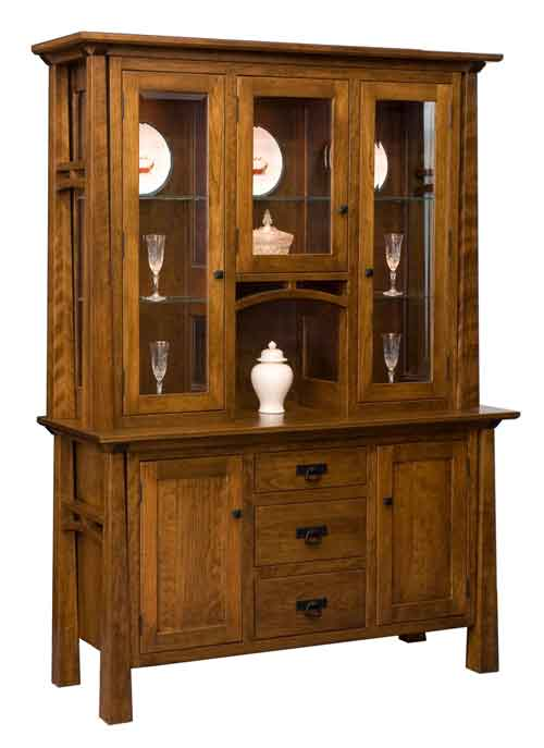 Amish Artesa China Cabinet