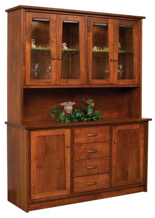 Amish Bayport China Hutch