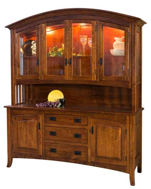 Amish Cambria China Hutch