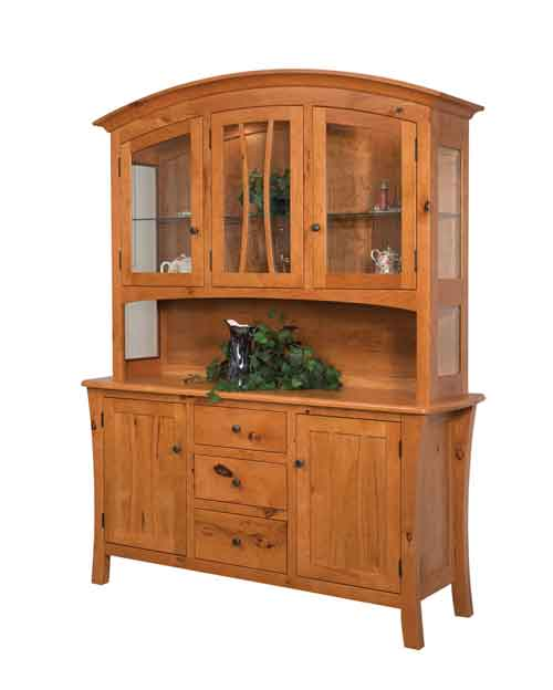 Amish Galveston China Cabinet