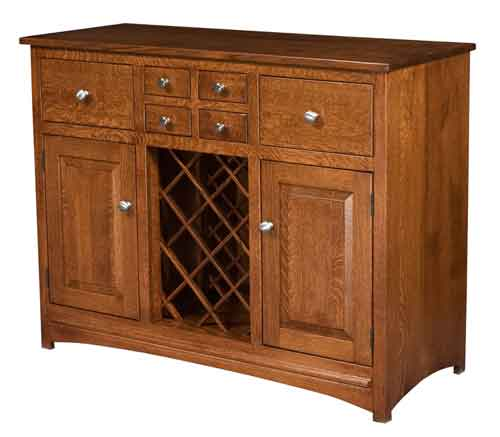 Amish Lisa Wine Cabinet