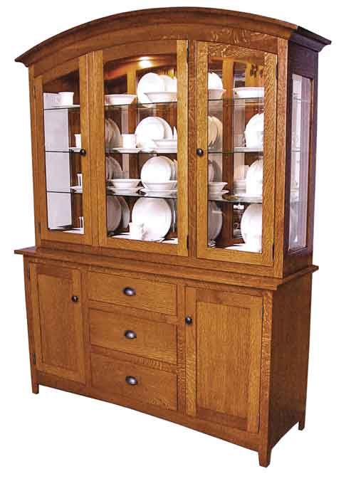 Amish Old Century Mission Hutch