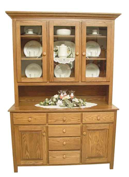 Amish Shaker Series Hutch