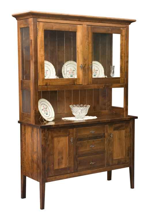 Amish Williamsburg China Hutch