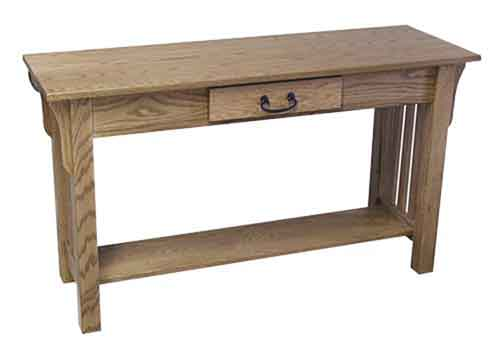 Amish Mission Sofa Table