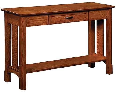Amish West Lake Sofa Table