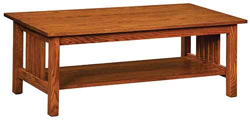 Amish Country Mission Coffee Table