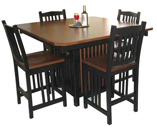 Amish Caribean Pub Table