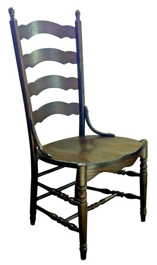 Brilliant Amish Handcrafted And Custom Kitchen And Dining Room Chairs Download Free Architecture Designs Grimeyleaguecom