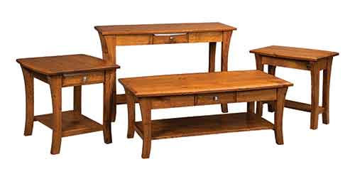 Ordinaire Amish Encinada Sofa Table