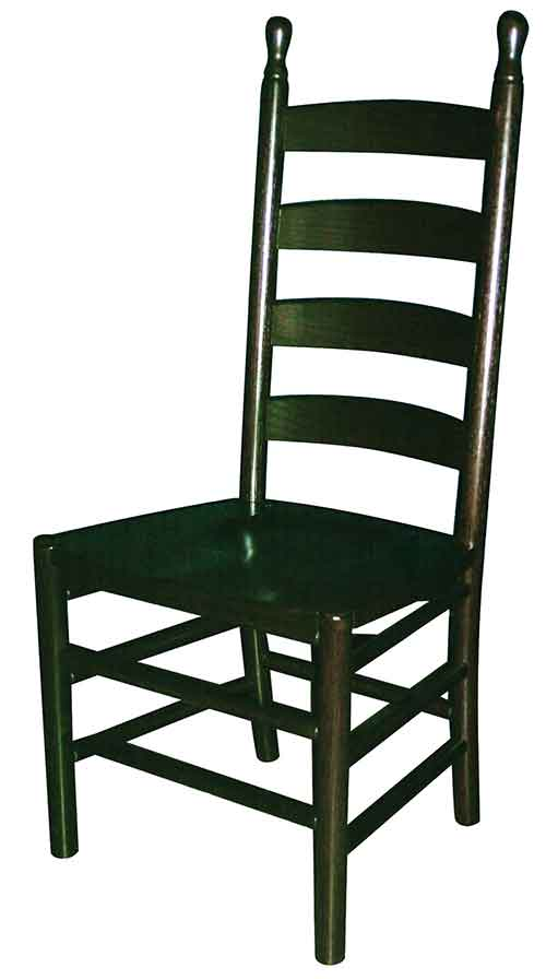 Amish Shaker Ladderback Side Chair