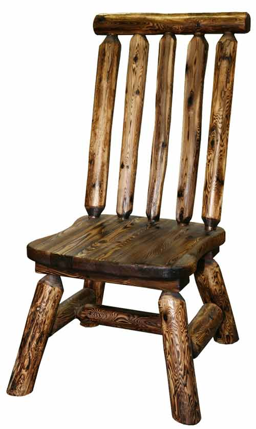Amish Made Rustic Side Chair