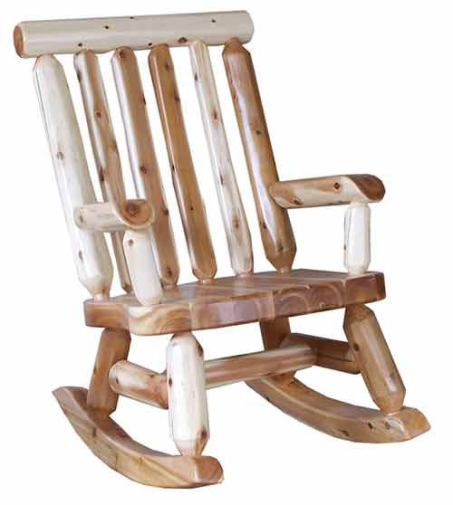 Amish Made Rustic Rocker